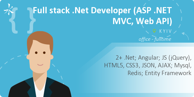 Full stack .Net Developer (ASP .NET MVC, Web API)