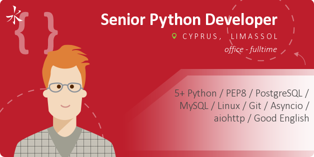 Senior Python Developer